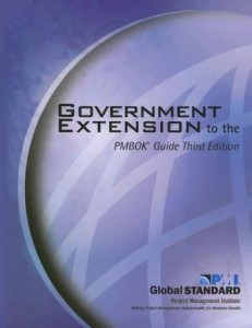 Government Extension to the PMBOK.